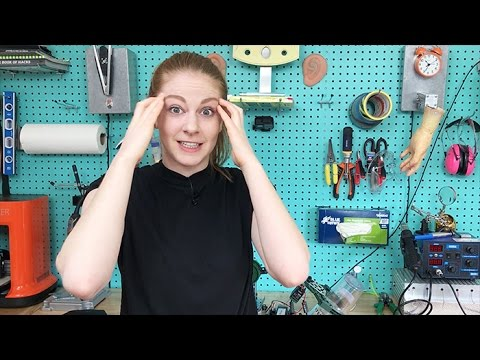 Simone Giertz Invents a BeerServing Robot