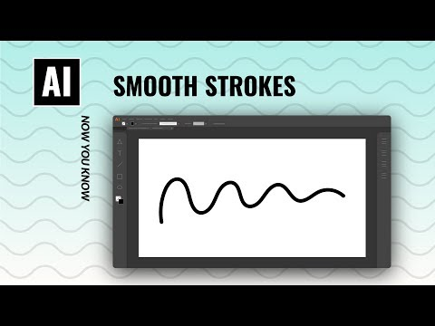 Get Smooth Brush Strokes Every Time | Illustrator