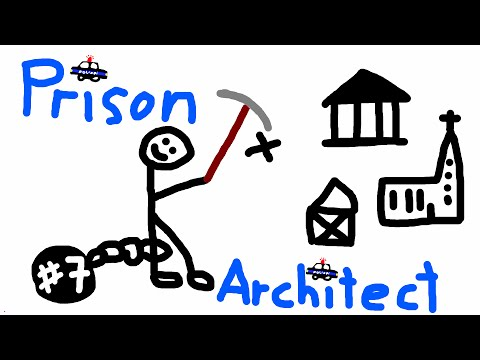 architect - ACHTUNG: Das gezeigte Spiel befindet sich noch in einem Alpha Stadium. Prison Architect ein Spiel von Introversion Software: http://www.introversion.co.uk/prisonarchitect/