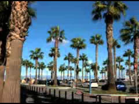 Benalmádena Puerto Deportivo. Calle Alborán Video
