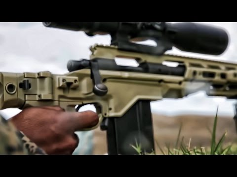 Marines Train With Remington M40 Sniper Rifl