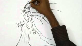 Видео: рисуем Изму карандашом