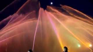 Hasičská fontána v Litoměřicích 2014 (Titanic) 2#
