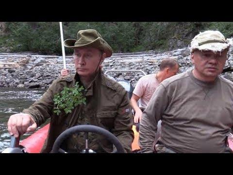 Как Путин в Туве отдыхал полная версия