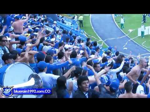 Fiesta De La Blue Rain // MILLOS vs once nalgas - Blue Rain - Millonarios