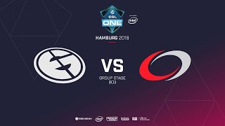 Evil Geniuses  vs compLexity Gaming, ESL  One Hamburg, bo3, game 2 [Lex & 4ce]