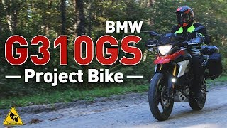10. 2018 BMW G310GS Project Motorcycle | TwistedThrottle.com