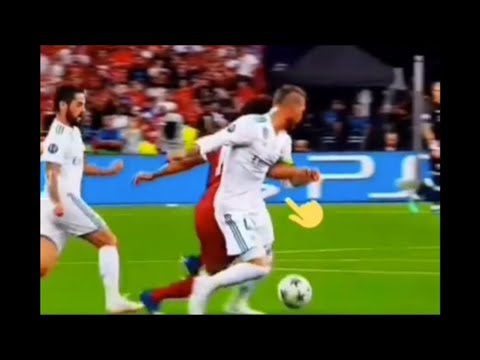 MO SALAH VS SERGIO RAMOS | INJURY | REAL MADRID VS LIVERPOOL | UEFA CHAMPIONS LEAGUE(UCL) FINAL 2018