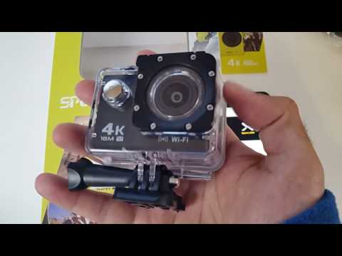 4K Sports Camera - 16MP - Waterproof (30M) - by NexGadget