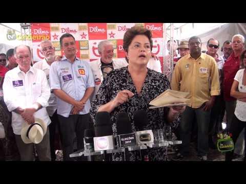 Presidente Dilma Rousseff em Feira de Santana