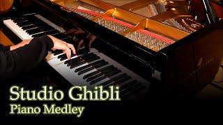 Video Studio Ghibli Medley [piano] MP3, 3GP, MP4, WEBM, AVI, FLV Juli 2018