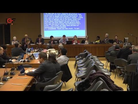 NRI Collaborative Session: Fake news, disinformation, misinformation: Challenges for Internet governance
