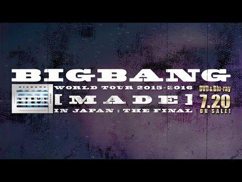 BIGBANG - SOBER (WORLD TOUR 2015~2016 [MADE] IN JAPAN : THE FINAL)