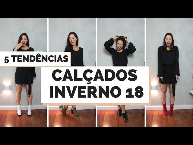 5 GRANDES TENDÊNCIAS CALÇADOS INVERNO 2018 - Closet da Mari