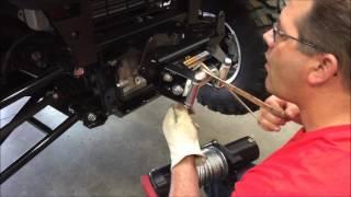 7. Installing a Winch Mount on a Kawasaki 2015 - 2016 Mule PRO FXT