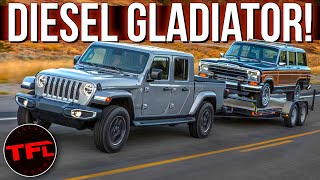 The 2021 Jeep Gladiator Diesel Is Finally Here - Everything You Want to Know! by The Fast Lane Truck
