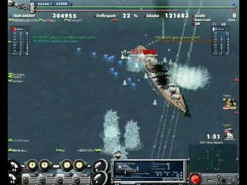 Navy Field-USS Montana Gameplay