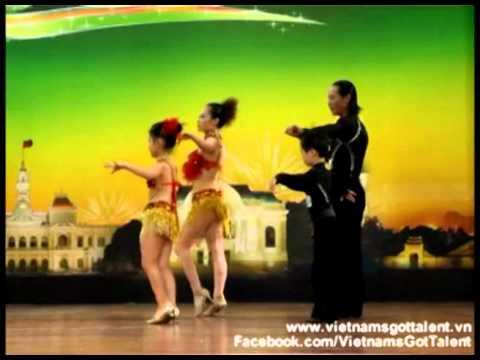 Cả gia đình nhảy điệu ChaChaCha - So KOOOOLL - Tập 4 Vietnam's Got Talent