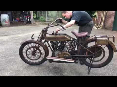 Test Bike 110 : Motosacoche 600cc Touring 1920-21 In Original Condition.