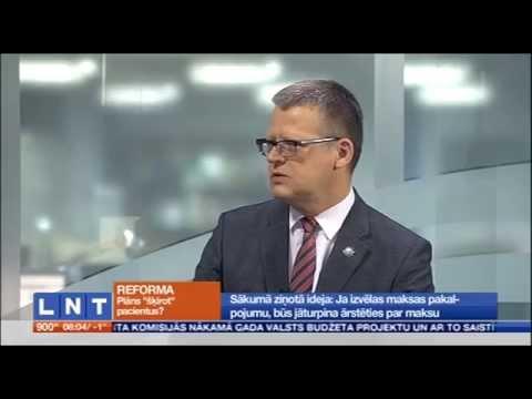 Veselības ministrs par valsts apmaksāto veselības aprūpes pakalpojumu saņemšanas kārtību (sarunas 1.daļa)