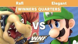 WNF 1.4 - UCI | Rafi (Bowser) vs Elegant (Luigi) Winners Quarters - Smash Ultimate