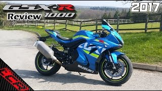 10. 2017 Suzuki GSXR-1000 | Ride Review - Better than the Fireblade?