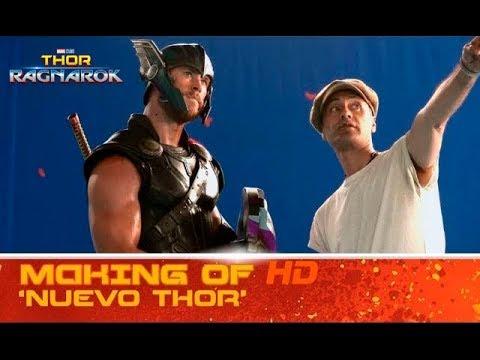 Thor: Ragnarok - Making of: nuevo Thor?>