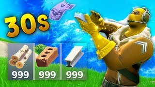 FULL MATERIALS IN 30 SECONDS..!! |Fortnite Funny and Best Moments Ep.60 (Fortnite Battle Royale)