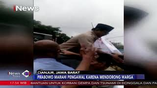 Video VIRAL! Prabowo Marahi Pengawal Karena Mendorong Warga - iNews Sore 12/03 MP3, 3GP, MP4, WEBM, AVI, FLV Maret 2019