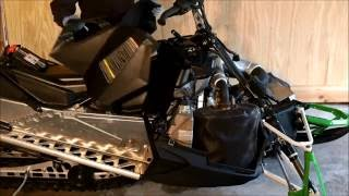 4. Preparing an Arctic Cat XF 6000 for off season storage