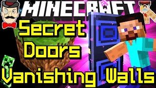 Minecraft SECRET DOORS, Vanishing Walls, Special Sensors&More!
