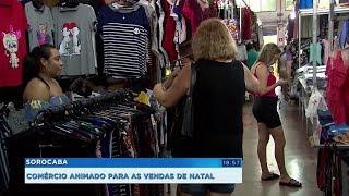 Vendas no comércio de Sorocaba devem aumentar 3% no Natal