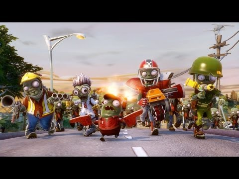 plantas contra zombies - Plants vs Zombies Garden Warfare - Zombie trailer (HD).