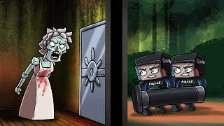 Minecraft - EVIL GRANNY IS ARRESTED! (Granny Horror Game)