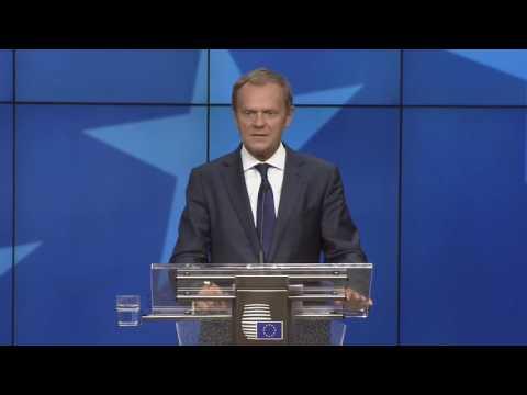 Δηλώσεις Ντ. Τουσκ μετά την ολοκλήρωση της άτυπης Συνόδου Κορυφής των 27