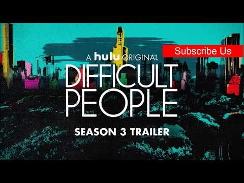 DIFFICULT PEOPLE - Season 3 Official Trailer HD