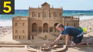 Video Top 5 Impressive Sand Castles MP3, 3GP, MP4, WEBM, AVI, FLV Maret 2019