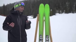 K2 Pinnacle 95 Skis 2017  ecbc7e498b