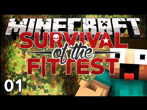 Episode) - Minecraft - Survival of the Fittest - Episode 1 Leave a LIKE on this video for more! Subscribe for more! ▻http://goo.gl/yCQnEn Survival of the fittest is a modded minecraft PvP/PvE experience...