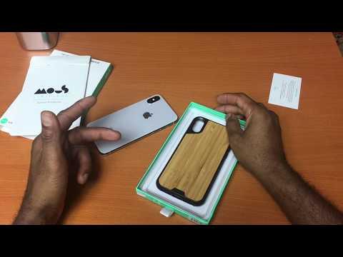 iPhone X: Mous Case (видео)