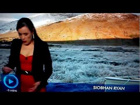RTE Weather Blooper-Siobhan Ryan