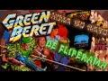 Green Beret rush n Attack Hora Do Rato De Fliperama