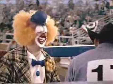 Rodeo Clown Commercial