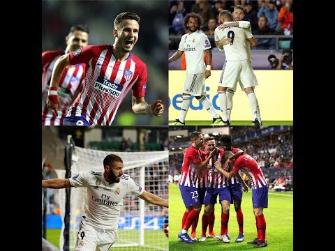 SUPERCOUPE D'EUROPE Real Madrid 2-4 Atlético