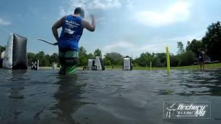 De l'archery dans l'eau !