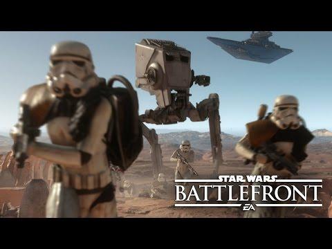 《星際大戰:戰場前線》實機遊玩畫面曝光!