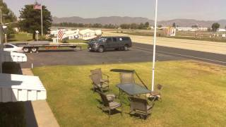 Condor Squadron Webcam Timelapse, Van Nuys Airport, KVNY, 10-07-2015.mp4