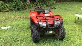 1. 2007 Honda Recon TRX250