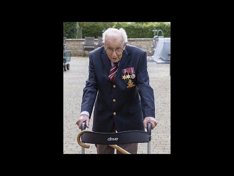 Βρετανία: Βετεράνος ετών 99, συγκέντρωσε 12 εκατ. λίρες για το Εθνικό Σύστημα Υγείας…