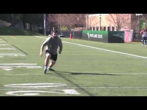Mitchell Van Dyk 2014 Pro Day video.